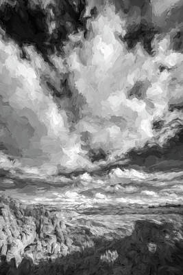 A Day With Clouds II Print by Jon Glaser