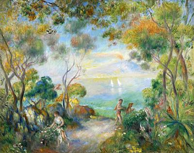 Pierre-auguste Renoir Painting - A Garden In Sorrento by Pierre-Auguste Renoir