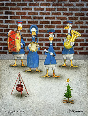 Giving Painting - A Joyful Noise... by Will Bullas