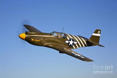 P-51 Photograph - A P-51a Mustang In Flight by Scott Germain