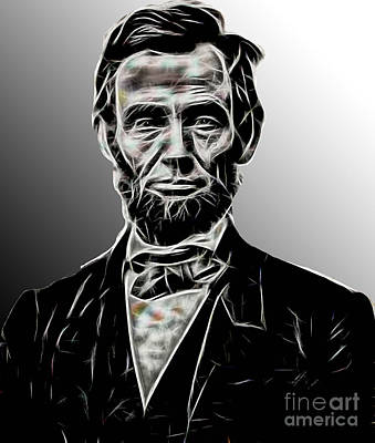 Abraham Lincoln Collection Print by Marvin Blaine