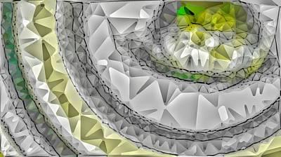 Digital Abstract Drawing - Abstract 2 by Paulo Guimaraes