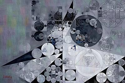 Abstract Painting - Black Pearl Print by Vitaliy Gladkiy