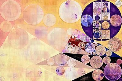 Viola Digital Art - Abstract Painting - Blackcurrant by Vitaliy Gladkiy