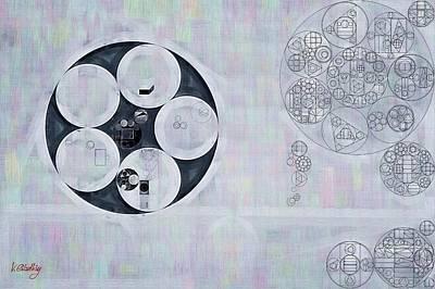 Licorice Digital Art - Abstract Painting - Casper by Vitaliy Gladkiy