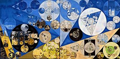 Nero Digital Art - Abstract Painting - Nero by Vitaliy Gladkiy