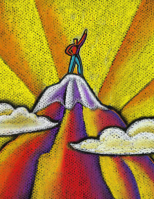 Adventuresome Painting - Achievement by Leon Zernitsky