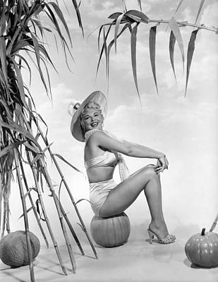 Movie Star Photograph - Actress Barbara Nichols by Underwood Archives