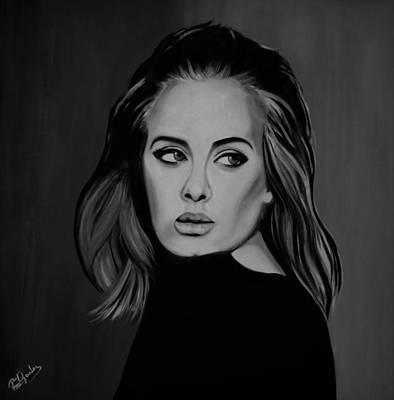 Adele Painting - Adele by Richard Garnham