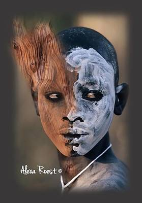 Gold Earrings Photograph - Africa Pure 9 by Alexa Roest