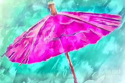 After The Rain Print by Krissy Katsimbras