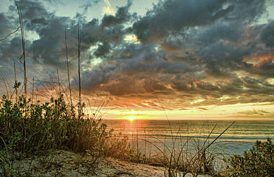Clouds Photograph - Afternoon Delight - Gulf Sunset by HH Photography of Florida