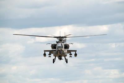 Ah-64 Apache Print by Sebastian Musial