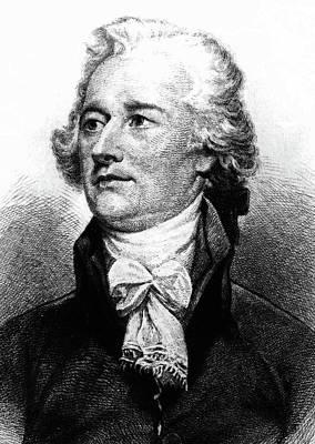 Alexander Hamilton Print by John Trumbull