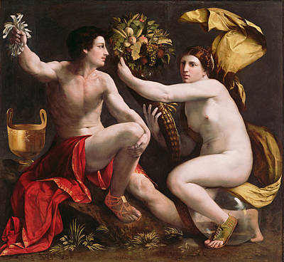 Dosso Dossi Painting - Allegory Of Fortune by Dosso Dossi