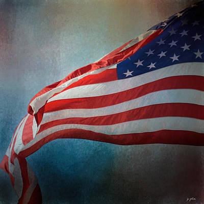American Flag Print by Jai Johnson