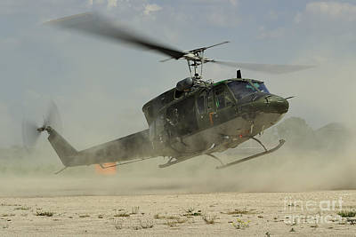 Foreign Military Photograph - An Agusta Bell Ab 212 Of The Italian by Remo Guidi