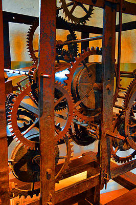 Ancient Clock Mechanism. Original by Andy Za