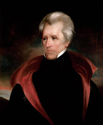 Ralph Earl Painting - Andrew Jackson by Ralph Eleaser Whiteside Earl