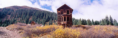 Old West .america Photograph - Animas Forks Ghost Town, Colorado by Panoramic Images