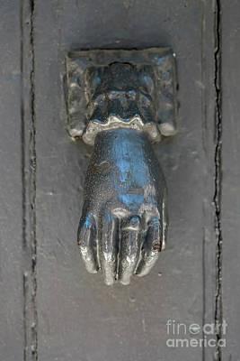 Old Door Photograph - Antique Door Knocker by Elena Elisseeva
