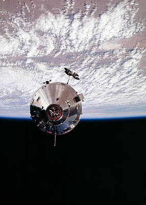 Earth From Space Photograph - Apollo 9 by Peter Chilelli