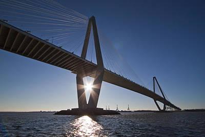 Arthur Ravenel Jr. Bridge Charleston Sc Print by Dustin K Ryan