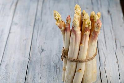 Kitchen Photograph - Asparagus by Nailia Schwarz