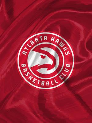 Sport Painting - Atlanta Hawks by Afterdarkness