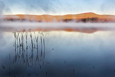 Autumn Fog Print by Bill Wakeley