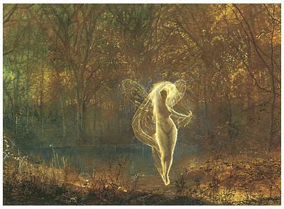 Autumn Print by John Atkinson Grimshaw