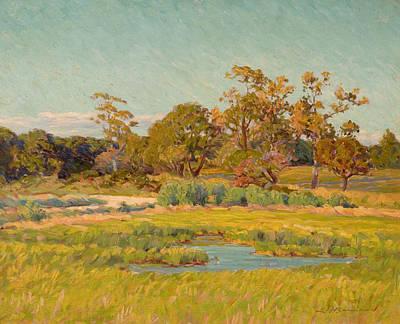Edward Herbert Barnard Painting - Autumn Landscape by Edward Herbert Barnard