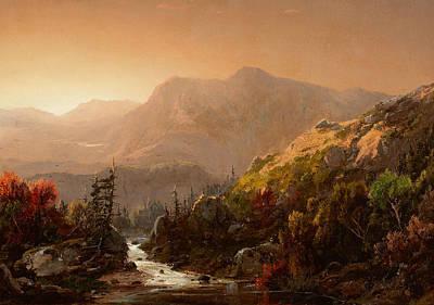 Autumn Landscape Painting - Autumn Landscape by William Louis Sonntag