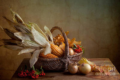 Autumn Print by Nailia Schwarz