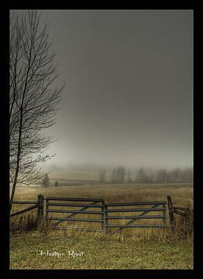Heather Rivet Photograph - Autumns Pasture by Heather  Rivet