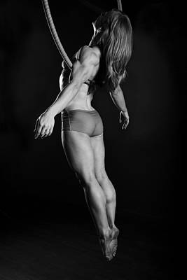 Dance Photograph - Balance Of Power by Monte Arnold