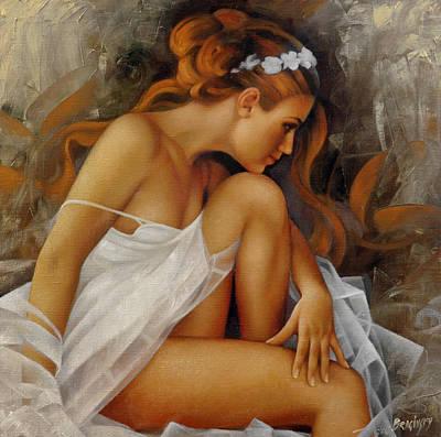 Erotica Painting - Ballerina by Arthur Braginsky