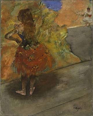Ballet Painting - Ballet Dancer by Edgar Degas