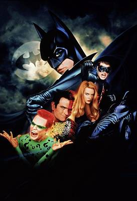 Batman Digital Art - Batman Forever 1995  by Caio Caldas