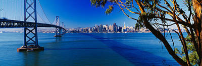 Bay Bridge & San Francisco Print by Panoramic Images