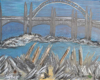 Painting - Bayfront by Suzanne Surber