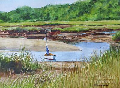 Painting - Bayside Marsh by Karol Wyckoff