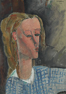 Hastings Painting - Beatrice Hastings by Amedeo Modigliani
