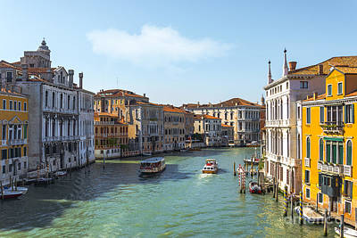 Piazza Mixed Media - Beautiful Venice by Svetlana Sewell