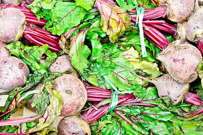 New To Vintage Photograph - Beetroot by Tom Gowanlock