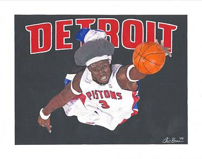 Ben Wallace Print by Chris Brown