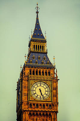 Iconic Photograph - Big Ben by Andrew Soundarajan
