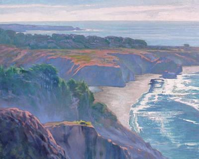 Big Sur Coast Print by Sharon Weaver