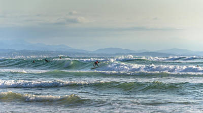 Photograph - Big Surf Invitational Iv by Thierry Bouriat