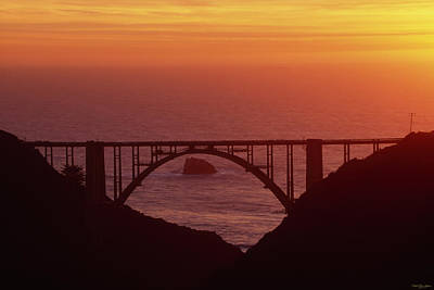 Bixby Bridge - Highway One California Print by Soli Deo Gloria Wilderness And Wildlife Photography